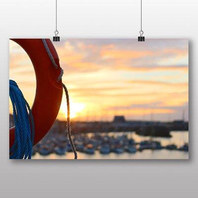 Big Box Art 'Boats at the Harbour No.3' Photographic Print