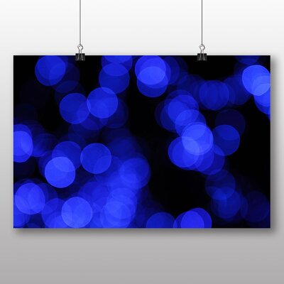 Big Box Art Blurred Fairy Lights Abstract No.8 Graphic Art on Canvas