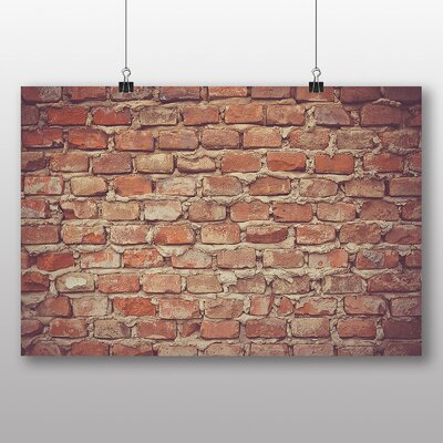 Big Box Art 'Brick Wall No.2' Photographic Print