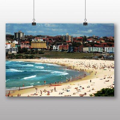 Big Box Art Bondi Beach Sydney Australia Photographic Print Wrapped on Canvas
