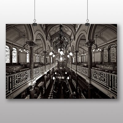 Big Box Art Brighton Synagogue No.2 Photographic Print Wrapped on Canvas