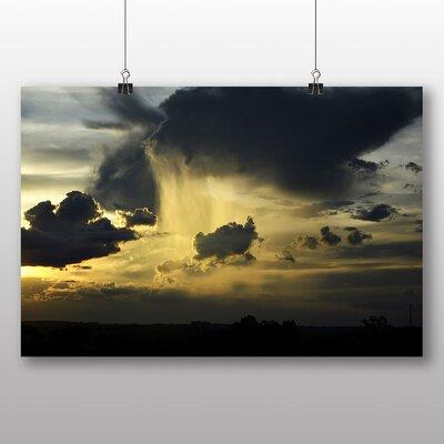 Big Box Art Brazil Stormy Sky Photographic Print Wrapped on Canvas