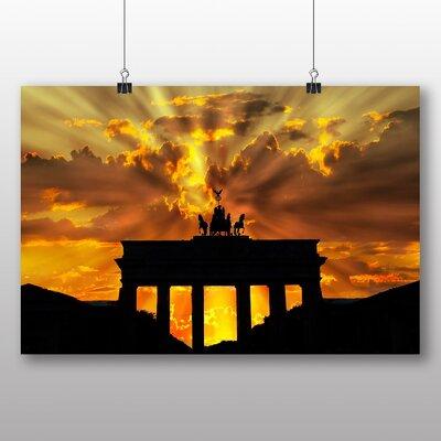 Big Box Art Brandenburger Tor Berlin Germany Photographic Print on Canvas