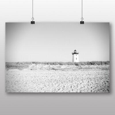 Big Box Art 'Beach and Lighthouse' Photographic Print