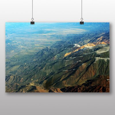 Big Box Art Andes Mountains Argentina Chile Photographic Print