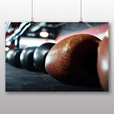 Big Box Art Boxing Gloves Photographic Print
