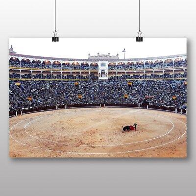Big Box Art Bullfight Bullfighting Ring Photographic Print
