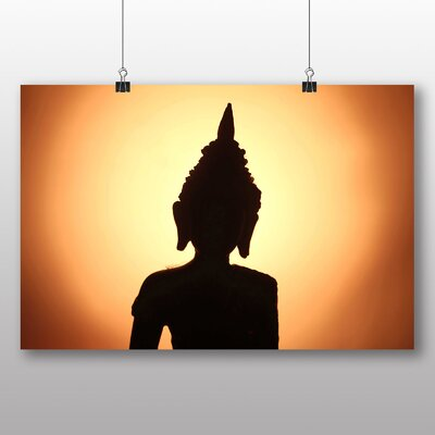 Big Box Art Buddha No.2 Photographic Print Wrapped on Canvas