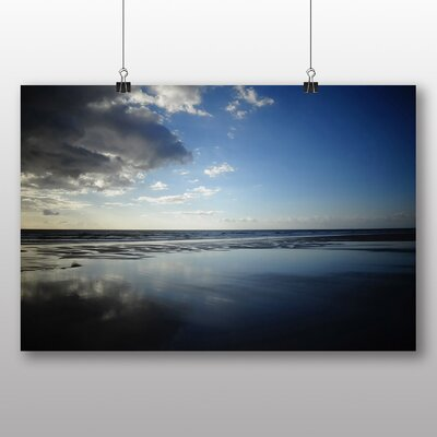 Big Box Art Brittany Sea Photographic Print Wrapped on Canvas