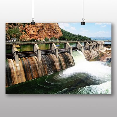 Big Box Art Dam Photographic Print on Canvas
