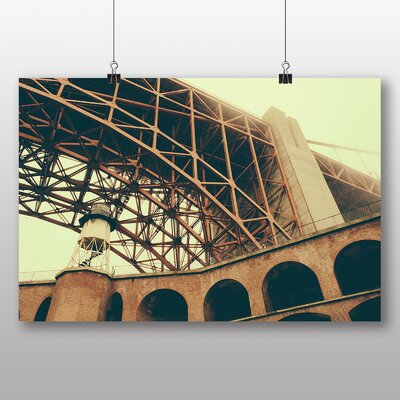 Big Box Art 'Bridge from the Ground' Photographic Print