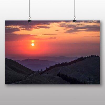 Big Box Art Bucovenia Romania Mountain Sunset Photographic Print