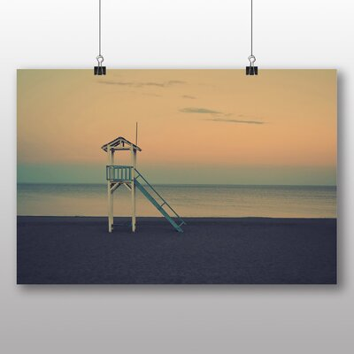 Big Box Art Beach Landscape Photographic Print on Canvas