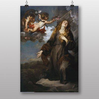 Big Box Art Saint Rosalie in Glory by Anthony Van Dyck Art Print