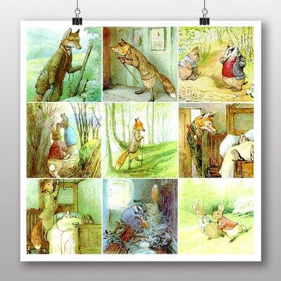 Big Box Art 'The Tale of Mr Todd' by Beatrix Potter Graphic Art