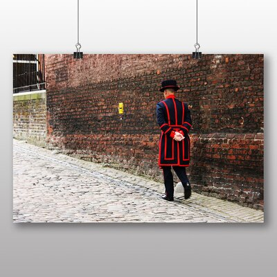 Big Box Art Beefeater Tower of London Photographic Print