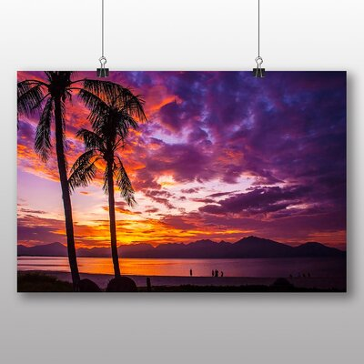 Big Box Art Beach Sunset Photographic Print