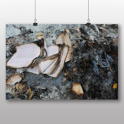Big Box Art 'Burnt Book Pages' Photographic Print