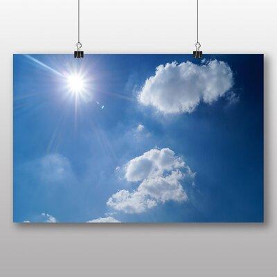Big Box Art 'Beautiful Blue Cloudy Sky No.2' Photographic Print