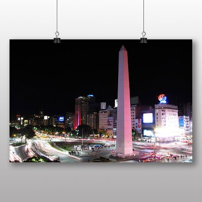 Big Box Art Buenos Aires Argentina Photographic Print on Canvas