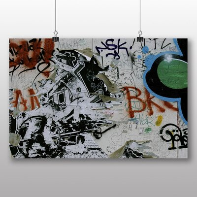 Big Box Art Berlin Wall Germany Graffiti Photographic Print