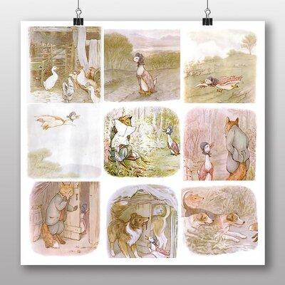 Big Box Art 'The Tale of Jemima Puddle Duck No.2' by Beatrix Potter Art Print