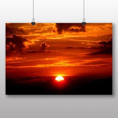 Big Box Art Beautiful Sunset No.1 Photographic Print