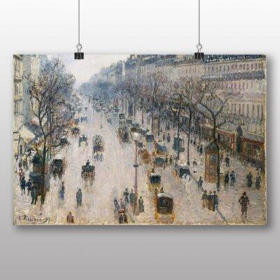 Big Box Art 'Boulevard Montmartre No.2' by Camille Pissarro Art Print