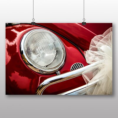 Big Box Art Beetle Vintage Classic Car No.5 Photographic Print