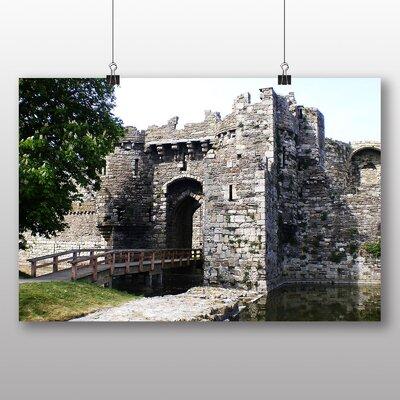 Big Box Art Beaumaris Castle Angelsey Wales Photographic Print