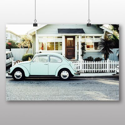 Big Box Art Beetle Vintage Classic Car No.3 Photographic Print