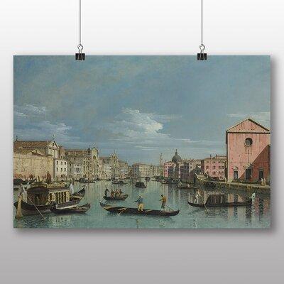 Big Box Art 'Venice' by Bernado Bellotto Canaletto Art Print