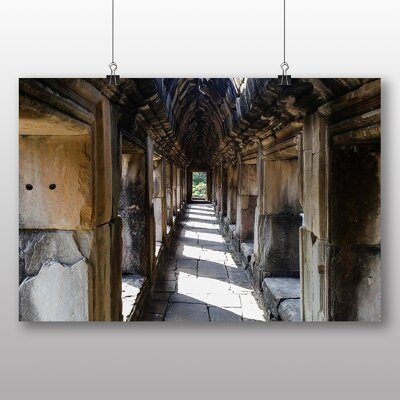 Big Box Art Cambodia Temple No.2 Photographic Print Wrapped on Canvas