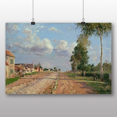 Big Box Art 'Route to Versailles' by Camille Pissarro Art Print