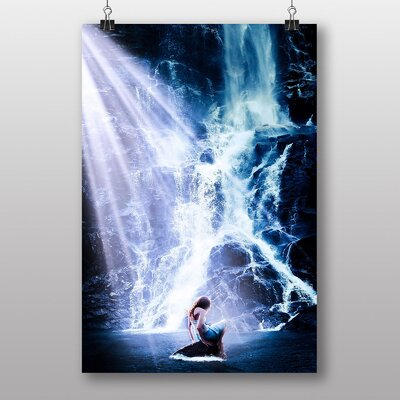 Big Box Art Beautiful Waterfall No.3 Graphic Art