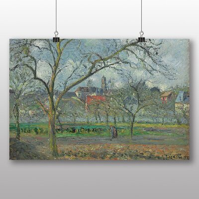 Big Box Art 'Laumone in Winter' by Camille Pissarro Art Print