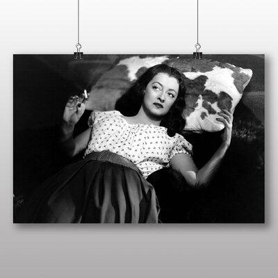 Big Box Art Bette Davis Photographic Print on Canvas
