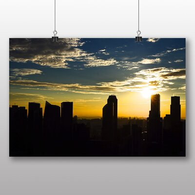 Big Box Art Beautiful Sunrise No.4 Photographic Print