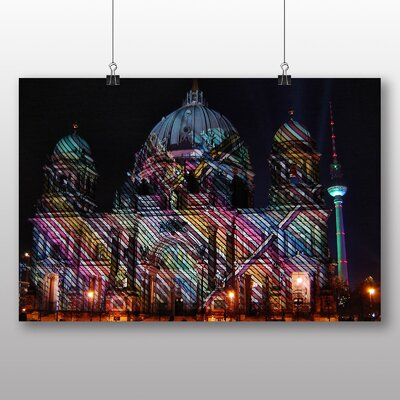 Big Box Art Berlin Dom Cathedral Germany No.2 Graphic Art on Canvas