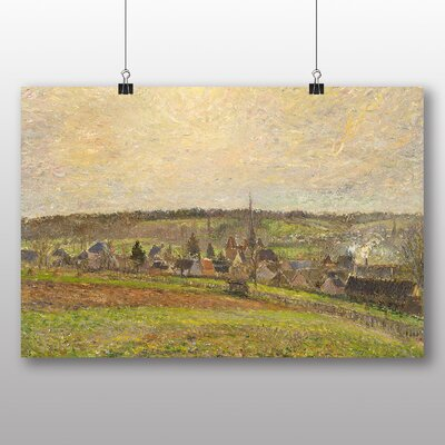 Big Box Art 'French Countryside' by Camille Pissarro Art Print