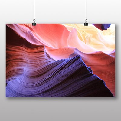 Big Box Art Canyon Sandstone No.6 Photographic Print on Canvas