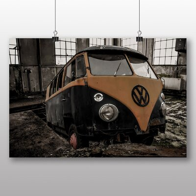 Big Box Art Camper Van No.2 Photographic Print Wrapped on Canvas