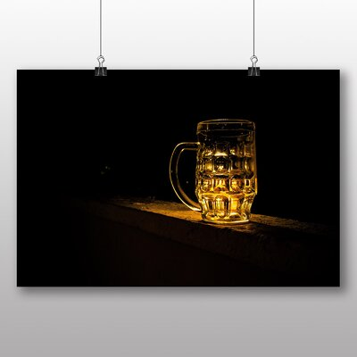 Big Box Art Beer Glass No.2 Photographic Print