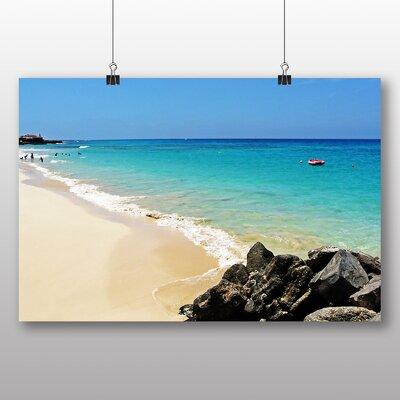 Big Box Art Cape Verde Beach Photographic Print