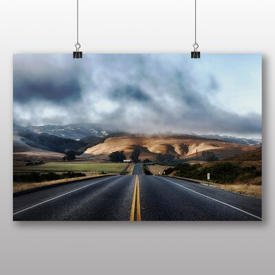 Big Box Art California Mountain Road Photographic Print