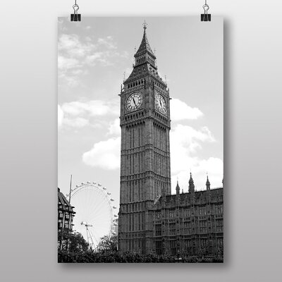 Big Box Art 'Big Ben London Eye' Photographic Print