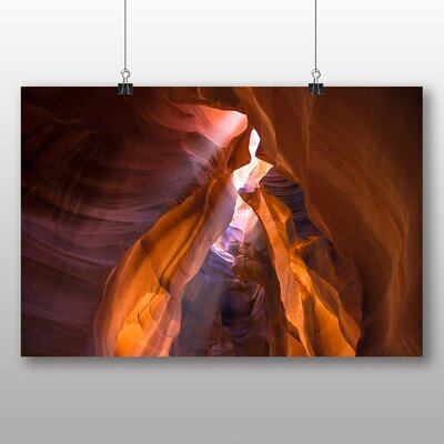 Big Box Art Canyon Sandstone No.3 Photographic Print on Canvas
