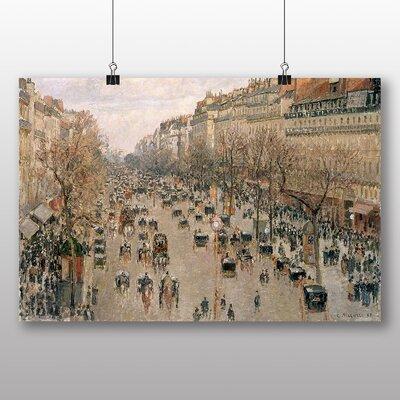 Big Box Art 'Boulevard Montmartre' by Camille Pissarro Art Print