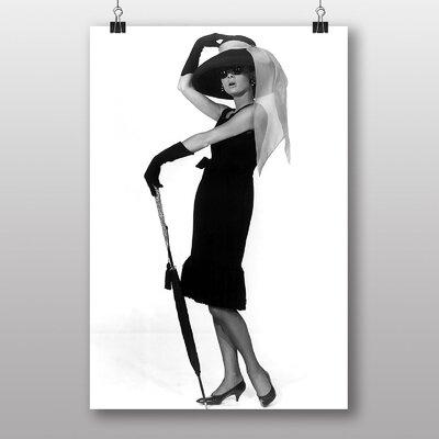 Big Box Art Audrey Hepburn No.1 Photographic Print