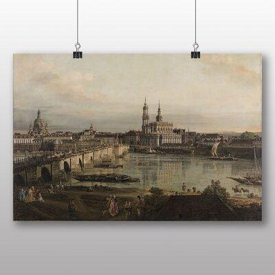 Big Box Art 'Bridge' by Bernado Bellotto Canaletto Art Print